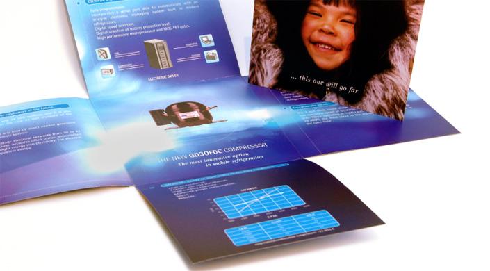 Catálogo promocional de compresores para unidades de frío móvil