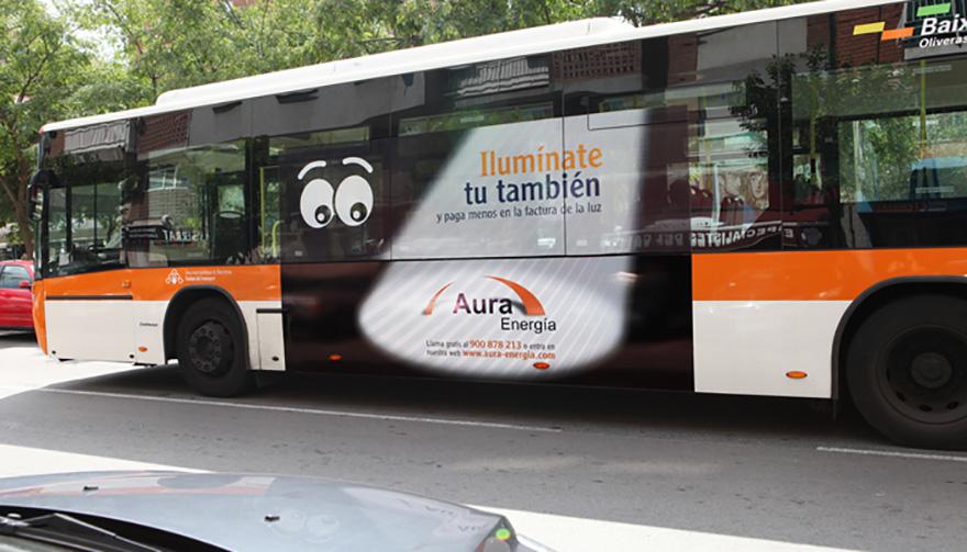 Plotter en bus