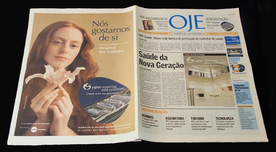 """Campaña \""""Nos gostamos de si\"""". Lanzamiento de HPP Hospital Boavista, Oporto"""