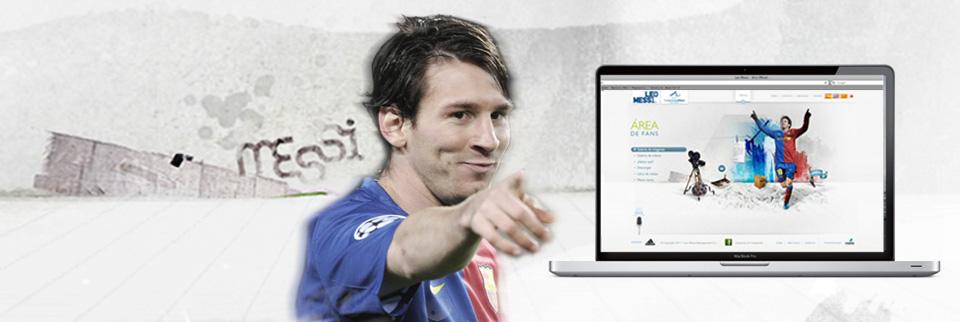 Web Messi
