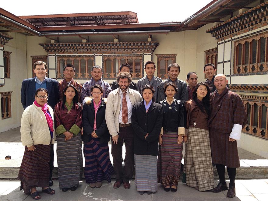 Presentación y capacitación sobre el proyecto en las oficinas de Turismo de India, Bangladesh, Nepal, Bhutan y Sri Lanka.