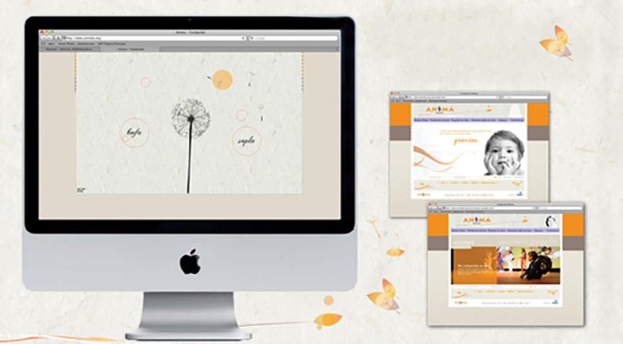 Web site corporativo de la fundación