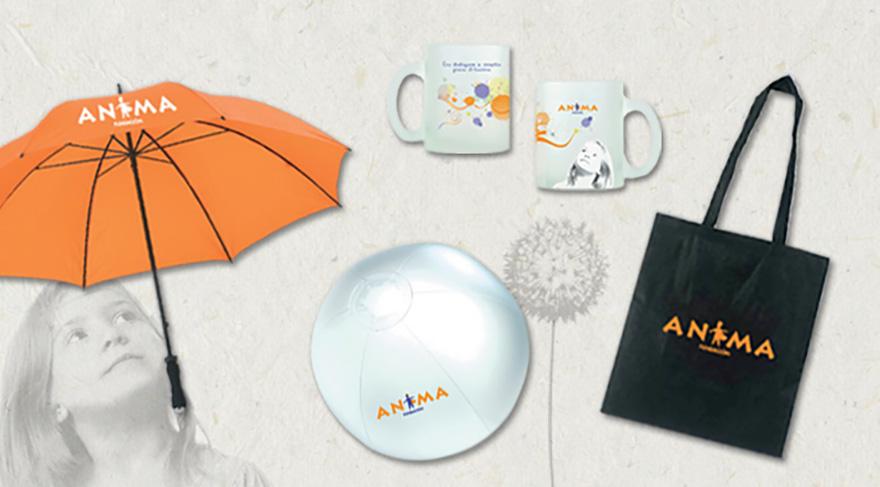 Diseño y desarrollo de material promocional y de merchandising