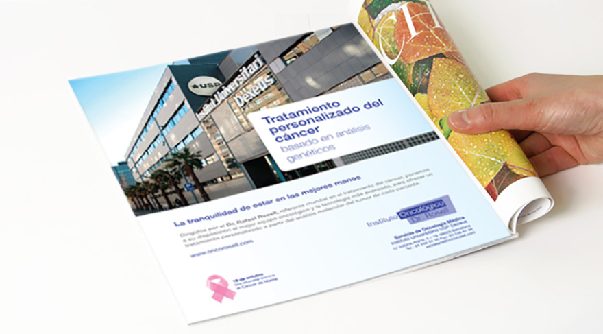 Anuncio corporativo, edición especial día mundial contra el Cáncer de mama