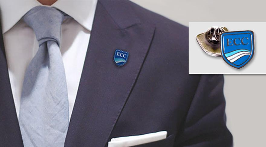 Diseño y producción de pin corporativo