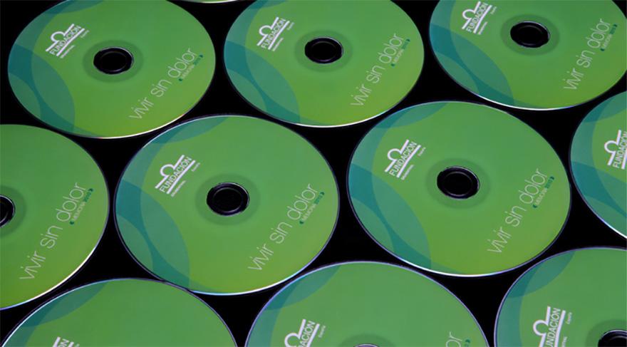 """Detalle CD-Rom \"""" Vivir sin dolor \"""""""