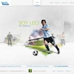 Leo Messi – Desarrollo de Web Oficial