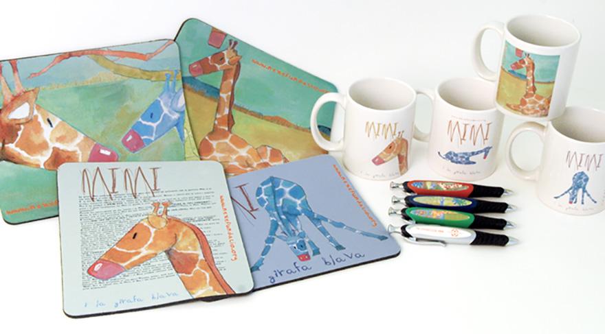 Diseño y producción de material de merchandising