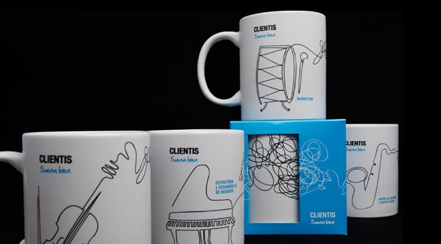 """Material de Merchandising para campaña \"""" Clientis, Suena Bien\"""" de Sanofi"""