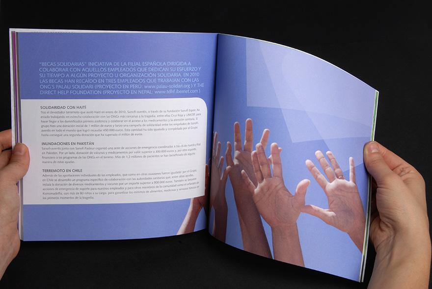 Memoria de responsabilidad social corporativa Sanofi 2010