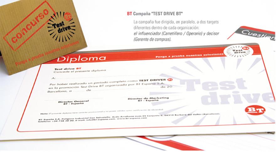 "Campaña promocional ""Test Drive BT"""