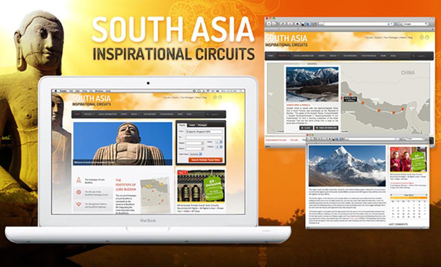 Diseño y desarrollo de website para la promoción de circuitos turísticos basados en el Budismo para India, Nepal, Buthan, Sri Lanka y Bangladesh
