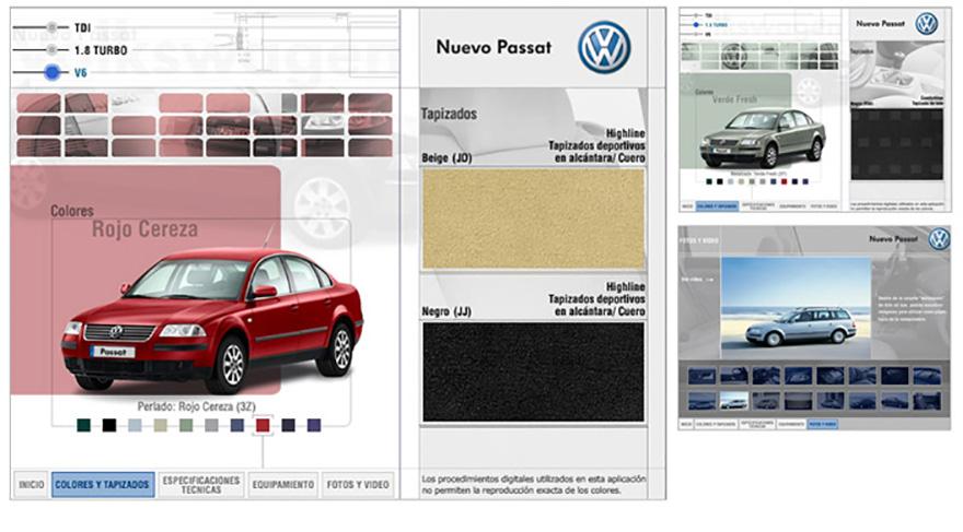 """Aplicación interactiva para campaña \""""Nuevo Passat\"""""""