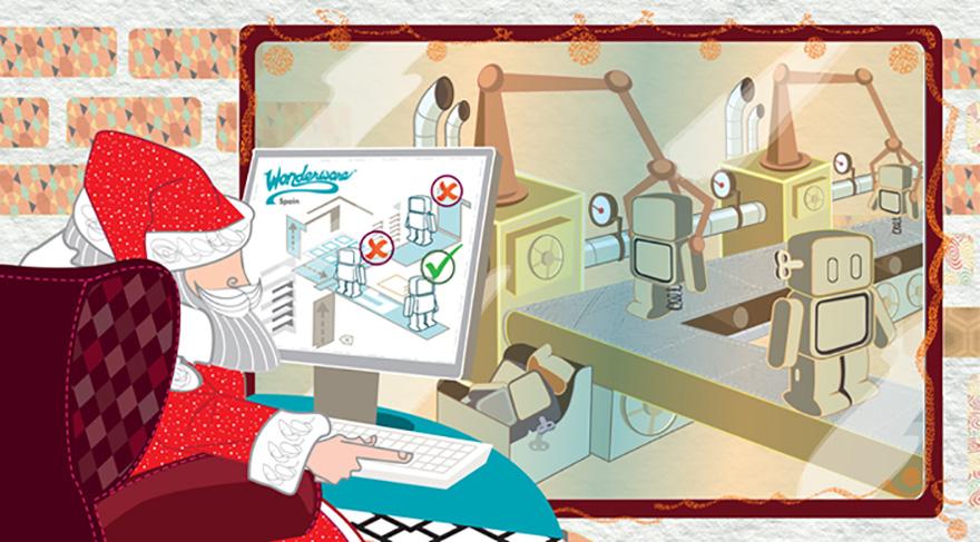 Ilustración para Christmas corporativo