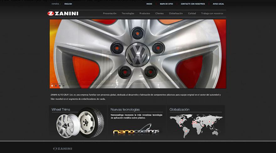 Diseño y desarrollo de website corporativo