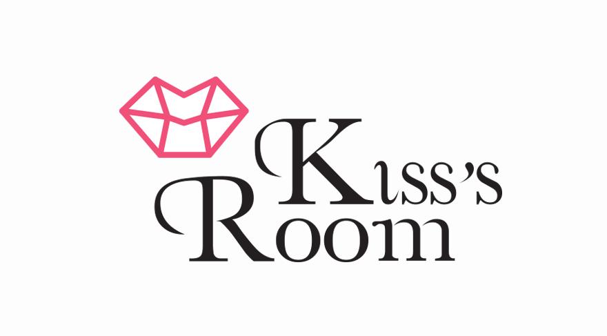 Diseño y desarrollo de logo corporativo para Kiss\'s Room