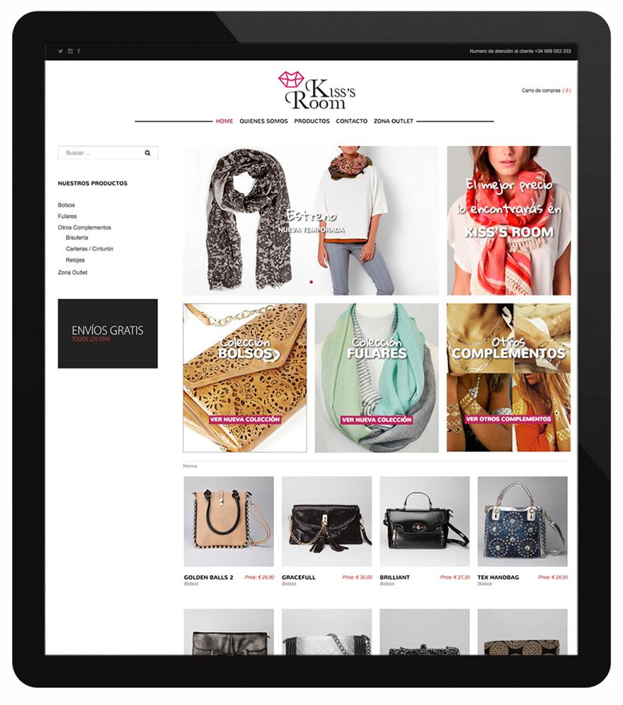 Diseño y desarrollo web con tienda virtual