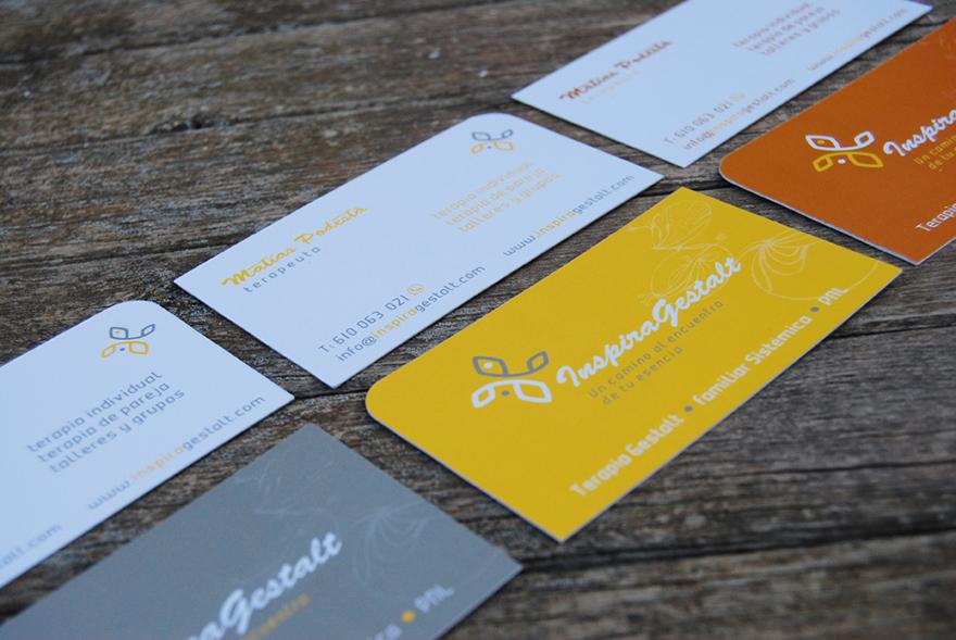 Diseño de tarjetas comerciales
