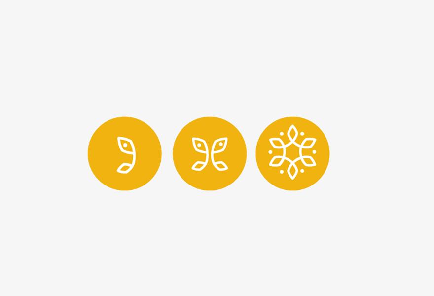 Diseño de iconos para las diferentes áreas