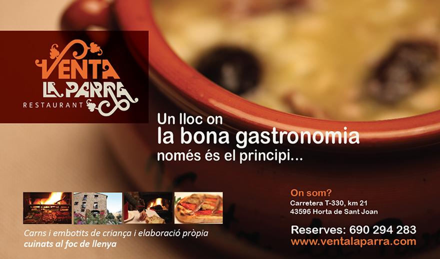 Creatividad y diseño del anuncio para prensa especializada en el sector turístico y gastronómico